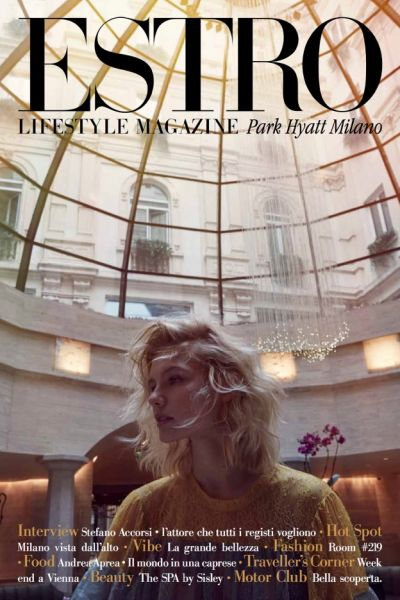 Park Hyatt Milan Launches ESTRO, the Hotel's Premier Lifestyle Magazine